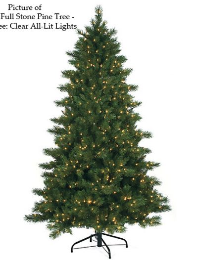 Fluff Free Full Stone Pine Christmas Tree For Christmas 2014