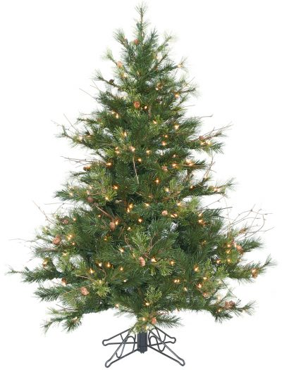 Mixed Country Pine Christmas Tree For Christmas 2014
