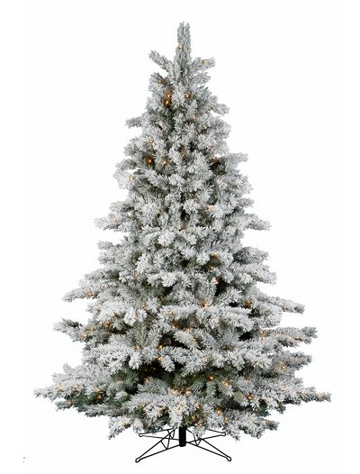 Flocked Aspen Christmas Tree For Christmas 2014