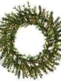 Vickerman A801849 48-In. Pre-Lit Mixed Country Wreath with 140 Clear Lights (Christmas Tree)