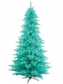 Artificial Aqua Fir Christmas Tree For Christmas 2014