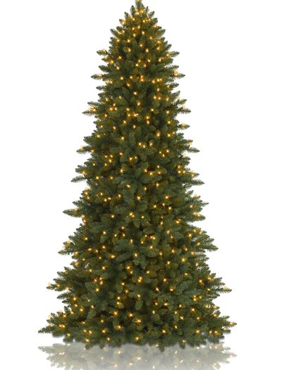 4.5' BH Berkshire Mountain Fir Artificial Christmas Tree - Clear (Christmas Tree)