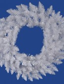 Vickerman 30 in. Sparkle White Spruce Wreath (Christmas Tree)