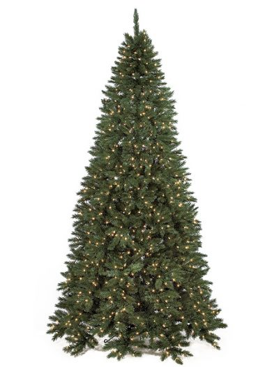 9 Foot Slim Flat Back Fir Christmas Tree: Clear Lights For Christmas 2014