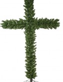 """90"""" Christmas Crosses with Clear Lights (Christmas Tree)"""