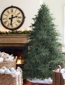 Aspen Christmas Signature 7.5' Silver Fir Artificial Unlit Christmas Tree (Christmas Tree)