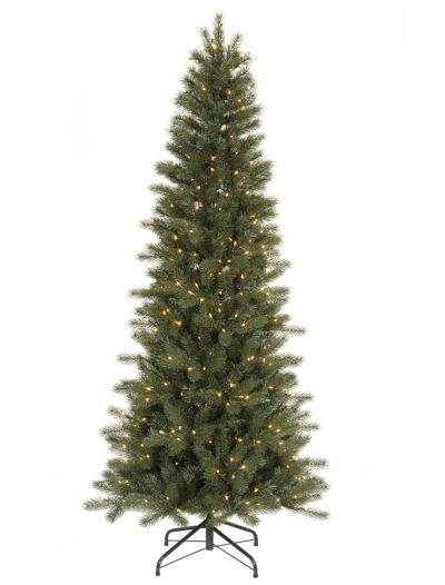 Blue Spruce Instant Shape Slim Christmas Tree For Christmas 2014
