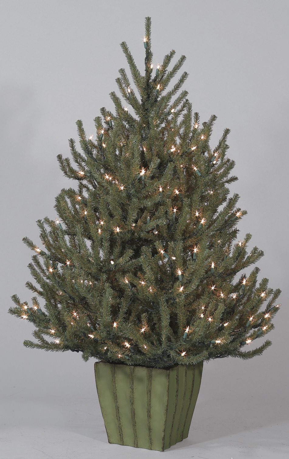 classics 4 baby spruce potted artificial christmas tree - Potted Artificial Christmas Trees