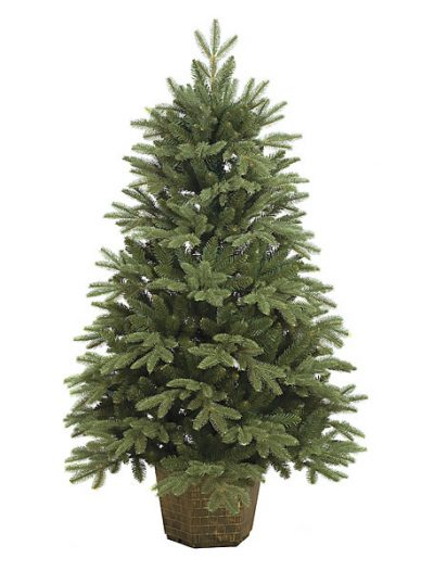 4.5 foot Blue Spruce Christmas Tree: Unlit For Christmas 2014