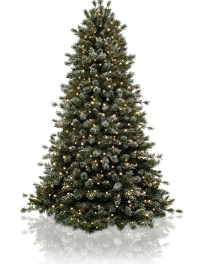 Classics 7' Frosted Sugar Pine Artificial Christmas Tree (Christmas Tree)