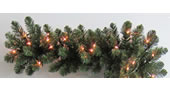25 Foot x 14 Inch Staylit Artificial Christmas Garland