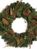 30 Inch Austrian Pine Wreath For Christmas 2014