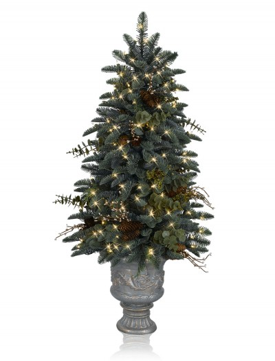 Mountain Meadow 4' Potted Artificial Christmas Tree (Christmas Tree)