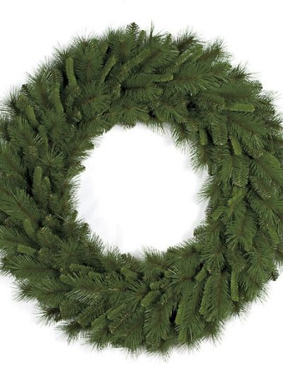 48 Inch Mixed Pine Wreath For Christmas 2014