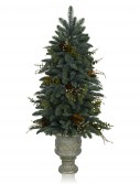 Mountain Meadow 4' Potted Artificial Unlit Christmas Tree (Christmas Tree)