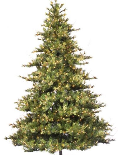 Vickerman A801676 7.5 x 63 Prelit Mixed Country 800CL (Christmas Tree)