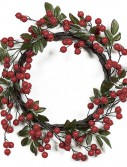 22 inch Fall Color Crabapple Wreath: Set of (2) For Christmas 2014