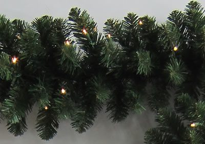 9 Foot x 12 Inch PerfectLit LED Artificial Christmas Garland