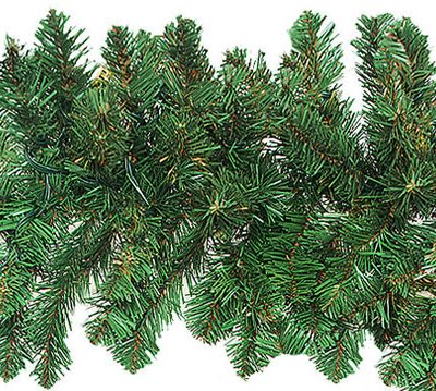 9 Foot x 12 Inch Unlit Artificial Christmas Garland