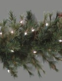 9 Foot x 16 Inch LED Artificial Christmas Garland