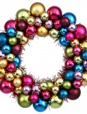 12 inch Ornament Ball Wreath For Christmas 2014