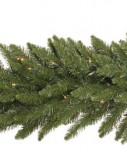 Vickerman A861127 25 ft. x 20 in. Camdon Garland Dura-Lit 450CL (Christmas Tree)