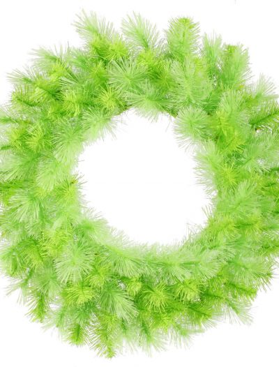 30 inch Lime Cashmere Pine Wreath For Christmas 2014