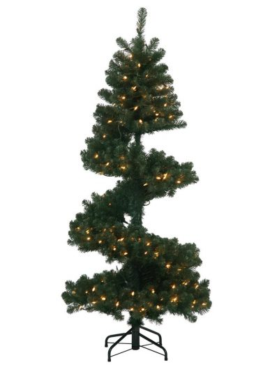 Artificial Spiral Christmas Pine Christmas Tree For Christmas 2014