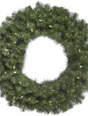 """Vickerman 31050 - 72"""" Douglas Fir Wreath 200WmWht LED (A808872LED) Christmas Wreath 72 Inches and Larger (Christmas Tree)"""