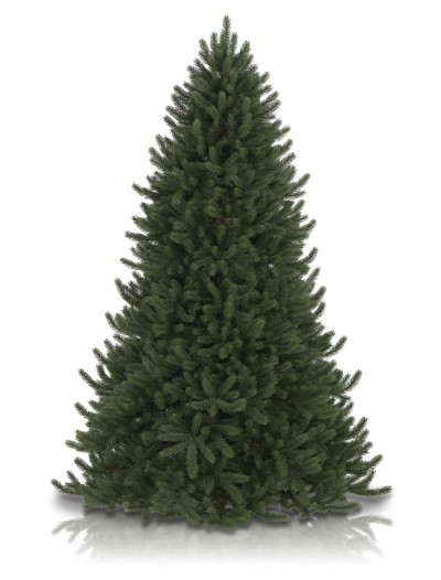 Vermont Signature 7.5' White Spruce Artificial Unlit Christmas Tree (Christmas Tree)