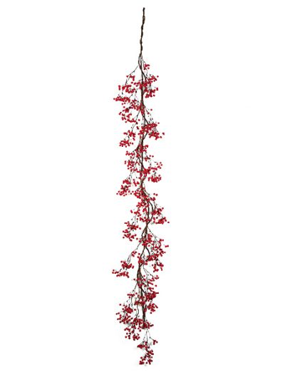 6 Foot Foam Mountain Berry Garland: Set of (6) For Christmas 2014