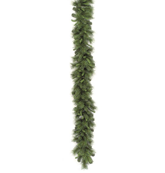 9 foot Mixed Pine Garland: Set of (2) For Christmas 2014