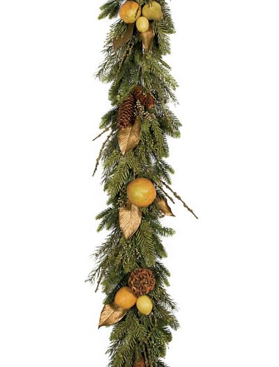 6 Foot Delia Robia Garland: Set of (2) For Christmas 2014