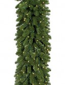 9 Foot Pine Garland: Clear Lights For Christmas 2014