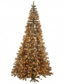 7.5 foot Antique Champagne Fir Corner Christmas Tree: Mini Lights For Christmas 2014