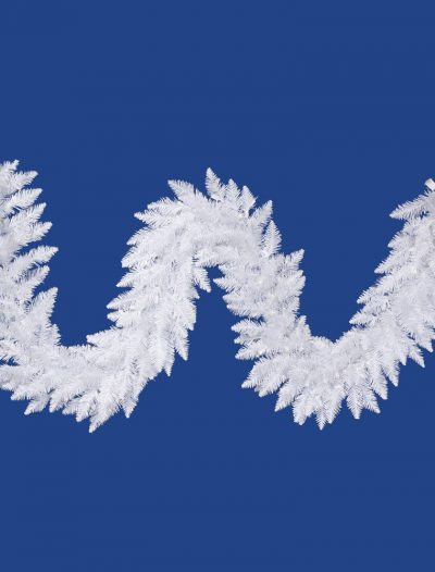 9 foot Sparkle White Spurce Garland For Christmas 2014