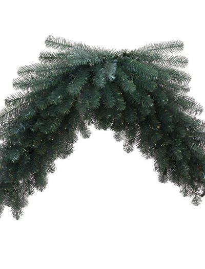 48 inch Artificial Blue Crystal Christmas Pine Swag For Christmas 2014