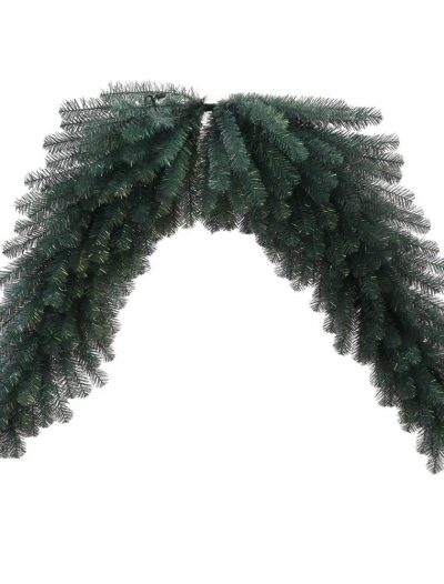 Artificial Blue Crystal Christmas Pine Garland For Christmas 2014