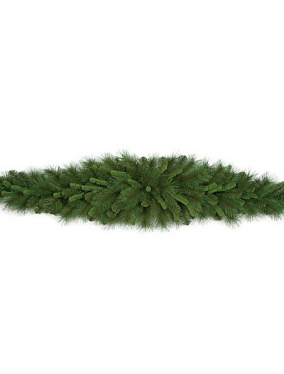 6 foot Mixed Pine Mantel Piece: Set of (2) For Christmas 2014