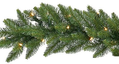Vickerman 9 ft. Camden Dura- Lit Garland (Christmas Tree)