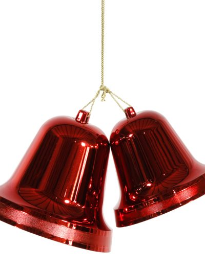 10 and 12 inch Double Bell Ornament For Christmas 2014