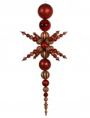 76 inch Snowflake Finial Ornament For Christmas 2014