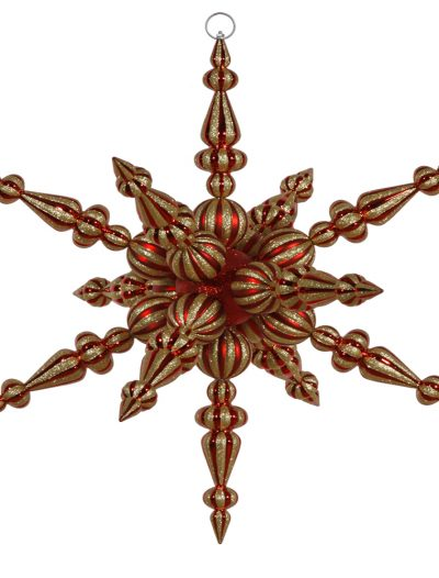 30 inch Radical Snowflake Ornament For Christmas 2014