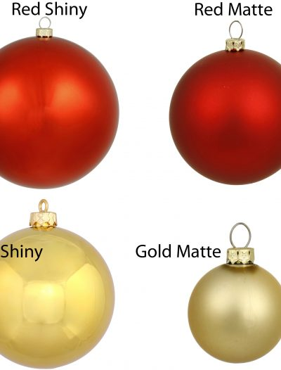 12 inch Shatterproof UV Resistant Ball Ornament For Christmas 2014