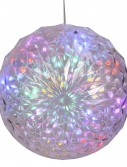 6 inch LED Outdoor Crystal Ball with 24 inch Lead Wire For Christmas 2014
