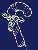 Candy Cane Window Decor (Set of 2) For Christmas 2014