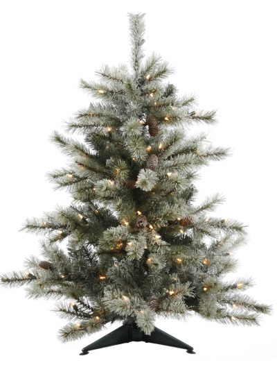Frosted Sartell Christmas Tree For Christmas 2014