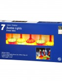 Strand of 7 Bubble Lights For Christmas 2014