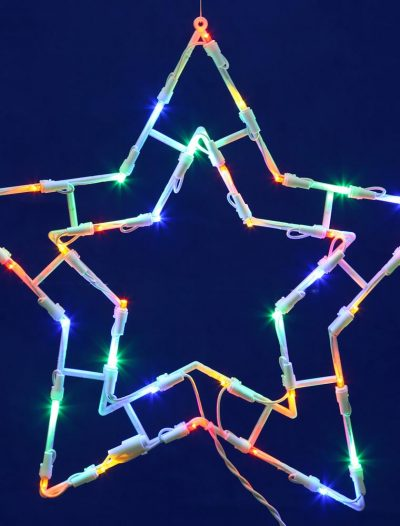 15 x 15 inch LED Light Star For Christmas 2014
