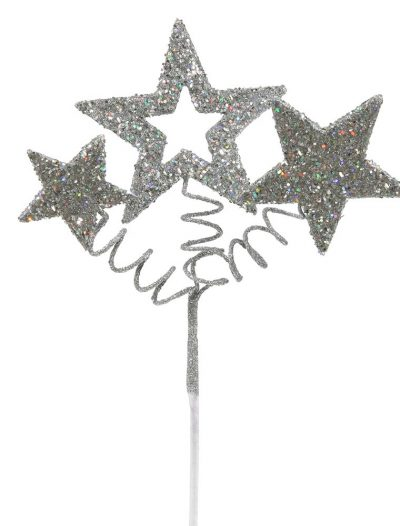 10 inch Glitter Star Christmas Spray For Christmas 2014